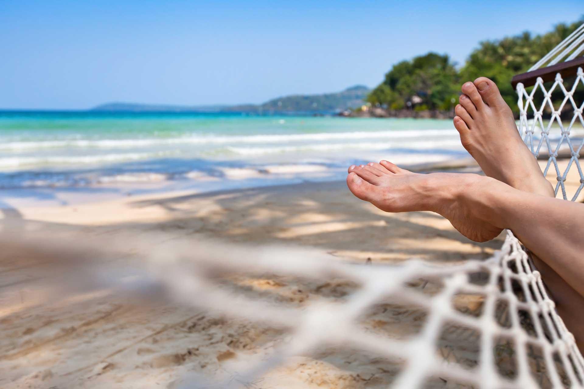 beach ready feet with Shuman Podiatry