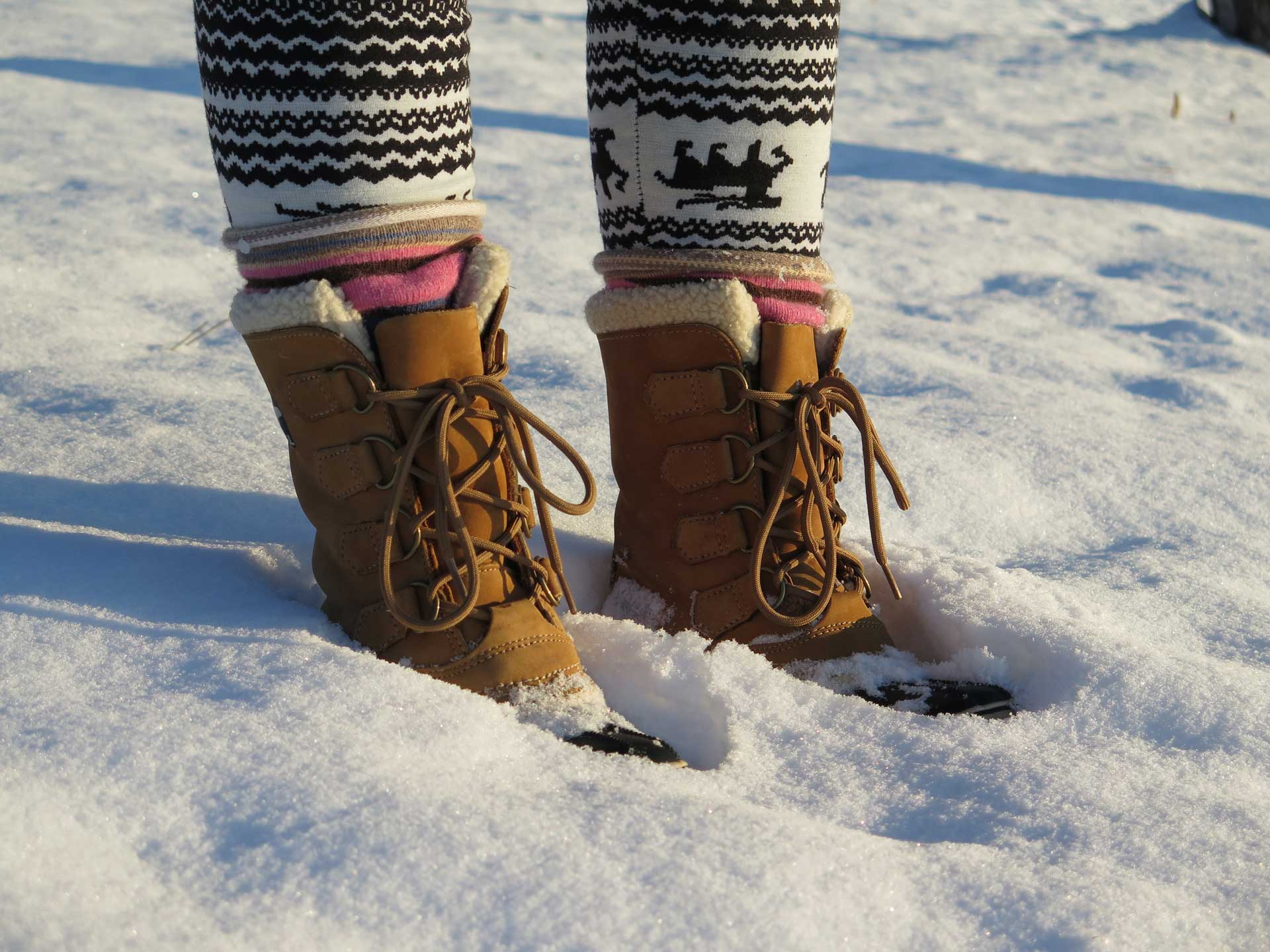 boot tips for winter and snow from Sterling Foot Doctor