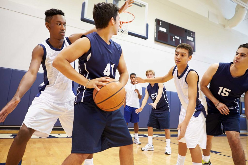 foot and ankle bracing for basketball by Shuman Podiatry and Sports Medicine in Sterling VA