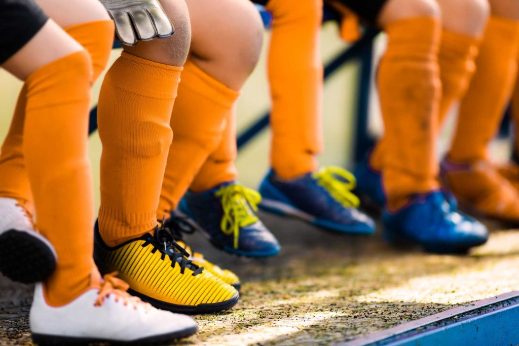image of kids cleats is okay to buy used cleats - Shuman Podiatry & Sports Medicine