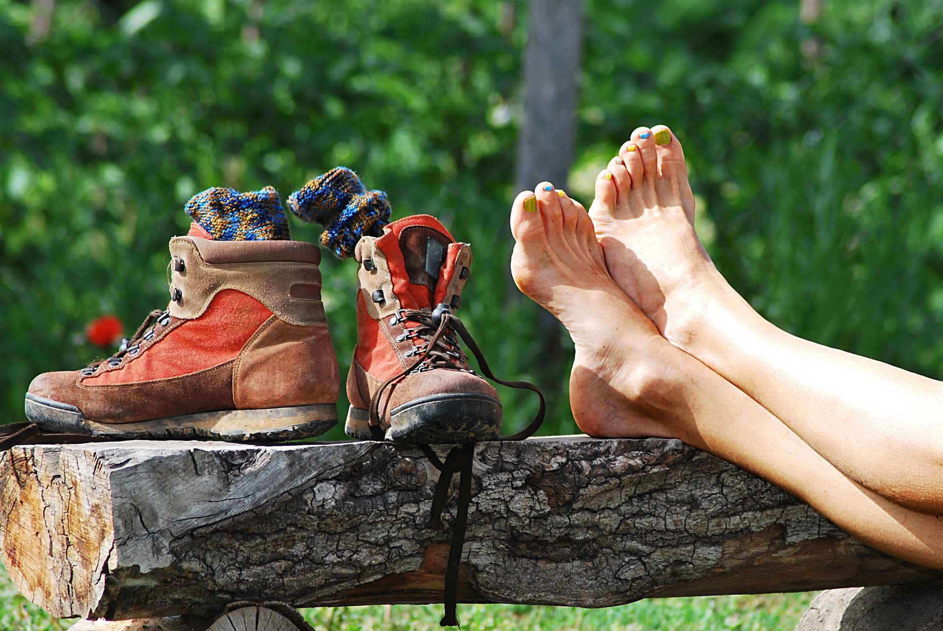 Image of Orthotics for hiking boots from Shuman Podiatry in Sterling VA